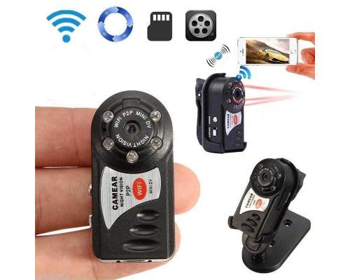 Мини видеокамера WiFi CAMERA Q7