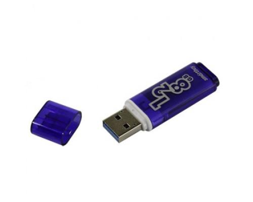 Флешка SmartBuy Glossy USB 3.0 128Gb синий