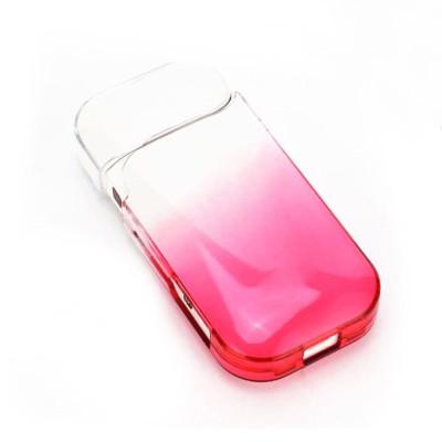 Чехол на IQOS 2.4 прозрачный красный