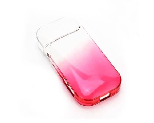 Чехол для IQOS 2.4 прозрачный красный