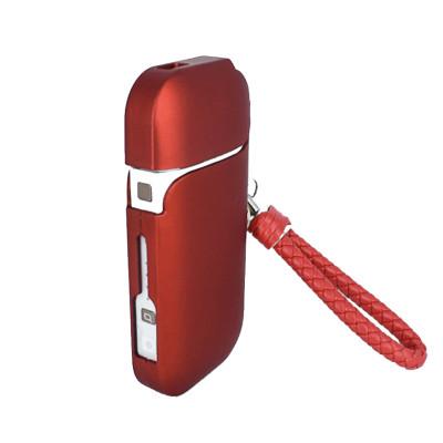 Чехол для IQOS 2.4 красный с ремешком