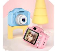 Детский фотоаппарат X2 цифровой розовый