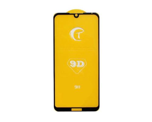 Защитное стекло для Huawei Y5 2019 5D черное прочностью 9H