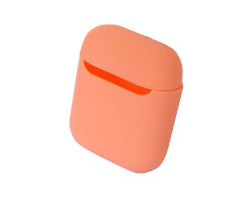 Чехол силиконовый для AirPods Peach