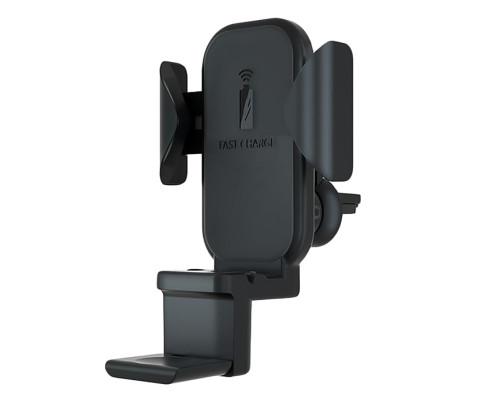 Автодержатель с беспроводной зарядкой N32 QI 10W 3 в 1 и автоматической фиксацией телефона