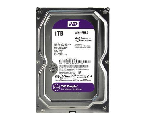 Жесткий диск HDD 1.0Tb Western Digital WD10PURZ