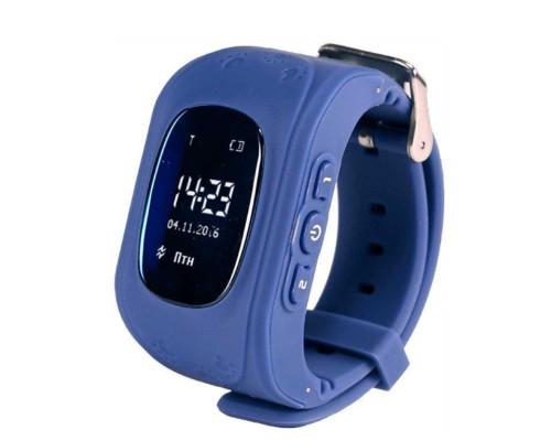 Часы Smart Baby Watch Q50, синие