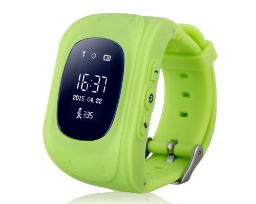 Часы Smart Baby Watch Q50, зеленые