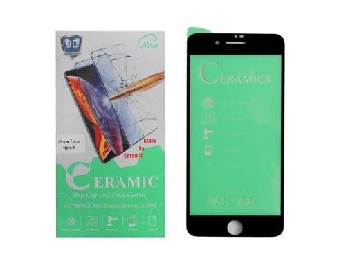 Защитная пленка Ceramics Film для iPhone 7 plus черная