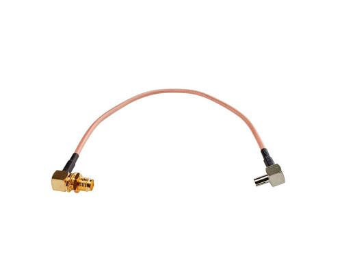 Пигтейл TS9 - SMA female угловой, кабельная сборка