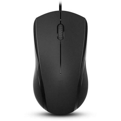 Мышь N1600 Black, беспроводная, черная