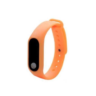 Фитнес браслет M2 оранжевый