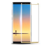 Защитное стекло для Samsung Galaxy Note 8 3D mini золотое
