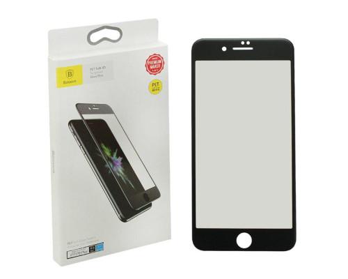 Защитное стекло Baseus для iPhone 8 Plus 3D черное