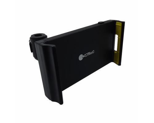 Автомобильный держатель для планшета на подголовник ST-08, черный