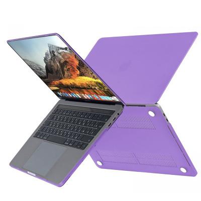 """Пластиковый чехолHardShell Case для Apple MacBook Air 13.3"""" (2018) фиолетовый"""