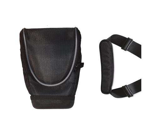 Сумка для фотокамеры r2 текстильная черная