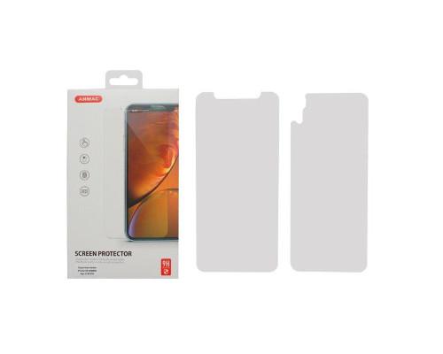 Защитное стекло ANMAC для iPhone XR, 2.5D, дисплей и задняя часть