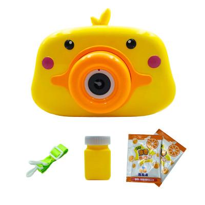 """Детский генератор мыльных пузырей в виде фотокамеры """"Уточка"""""""