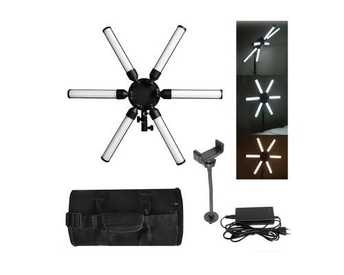 Кольцевая лампа звезда LED Professional для профессиональной фотосъемки, селфи лампа с чехлом-сумкой