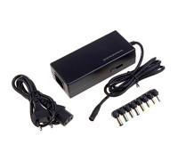 Универсальное зарядное устройство для ноутбука Dream NA01, 90 Вт, 12-24 В, 4A, 8 съемных коннекторов
