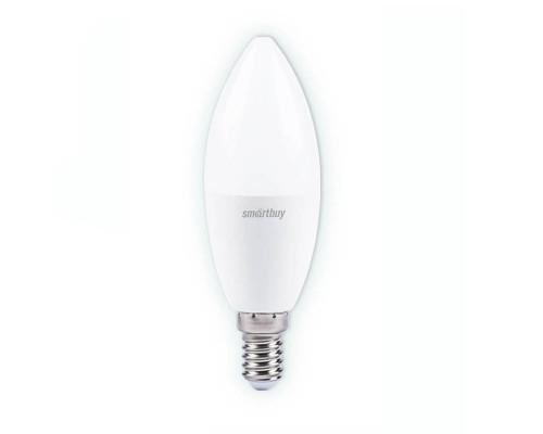 Лампа светодиодная SmartBuy SBL 4000K, E14, C37, 9.5Вт