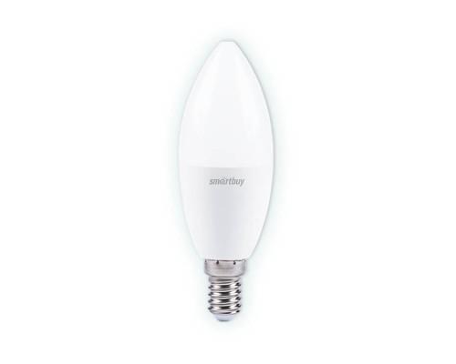 Лампа светодиодная SmartBuy SBL 3000K, E14, C37, 9.5Вт