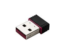 Беспроводной USB адаптер Wi-Fi 4 802.11b/g/n, 150 Мбит/с, черный