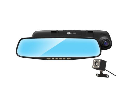 Видеорегистратор-зеркало Dream M069, камера заднего вида, FullHD, угол обзора 120 градусов, microSD