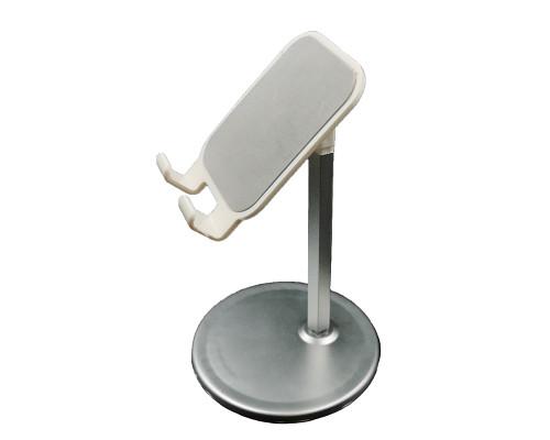 Настольная подставка для телефона, серебристая