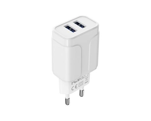Сетевое зарядное устройство Borofone BA37A Speedy, 2 USB, 2.4 А