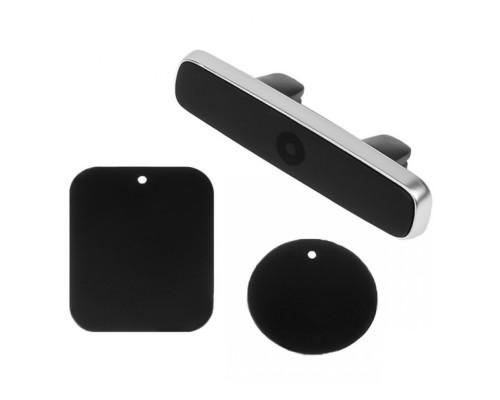 Магнитный держатель JDH159 для телефона в машину, на дефлектор, черный