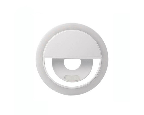 Селфи кольцо Selfie ring light PR-14 белое