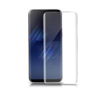 Защитное стекло для Samsung Galaxy S8 3D прозрачное