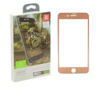 Защитное стекло Baseus для iPhone 8 Plus 3D золотое