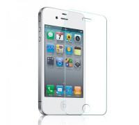 Защитное стекло для iPhone 4 эконом