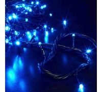 Гирлянда Нить 60 LED ламп голубых, длина 5 м