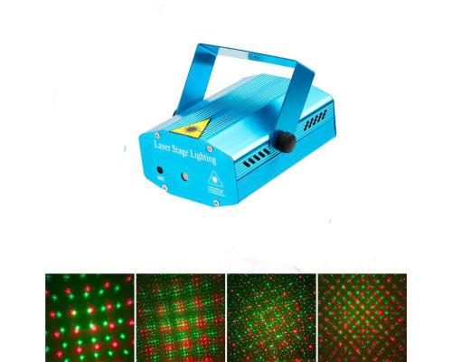 Новогодний Лазерный проектор для дома, 4 картины