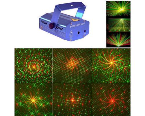 Новогодний Лазерный проектор для дома, 12 картин