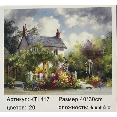 Рисуй по номерам Дом 40х30