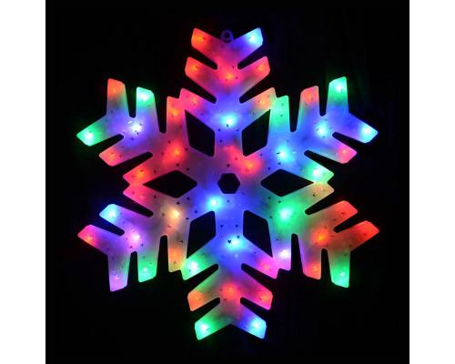 Фигурка Снежинка светящаяся, 40 см