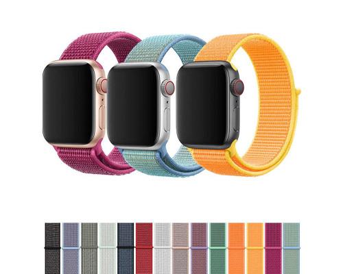 Тканевый ремешок для Apple Watch 42 - 44 мм цветной