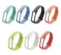 Ремешок для Xiaomi Mi Band 4 силиконовый разные цвета