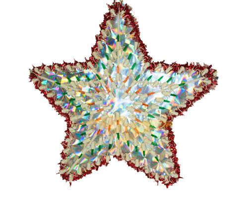 Гирлянда Звезда разноцветная 50 см