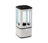 Портативная ультрафиолетовая бактерицидная лампа UVC-89 для дома и авто, белая