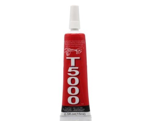 Клей/герметик для проклейки тачскринов T5000 (15 мл) (белый)