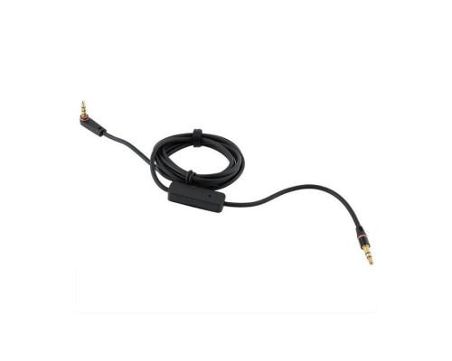 AUX кабель 3.5 мм - 3.5 мм с микрофоном