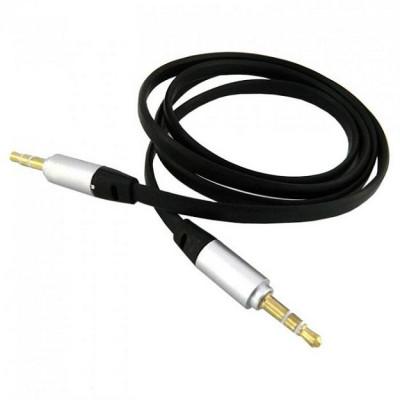 AUX кабель 3.5 мм - 3.5 мм плоский 1.2 м