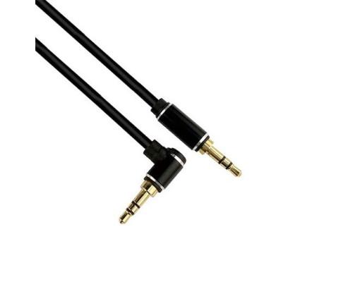 AUX кабель 3.5 мм - 3.5 мм Г-образный штекер