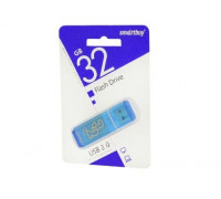 Флешка 32Gb SmartBuy glossy series blue
